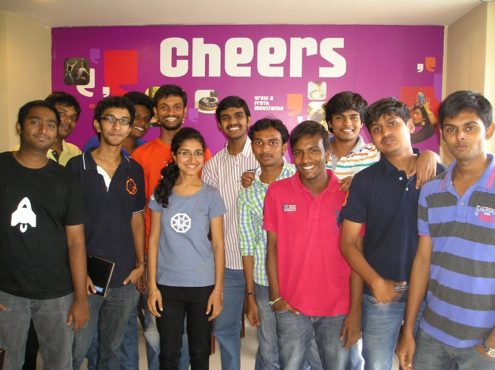Left-->Right Naresh, Subhash, Shreyas, Franklin, Sujith, Damini, Achyuth, Bharath, Sumanth, Shashank, Jerald
