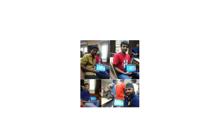 L-->R Franklin(Myself), Subhash, Bharath & Navdeep